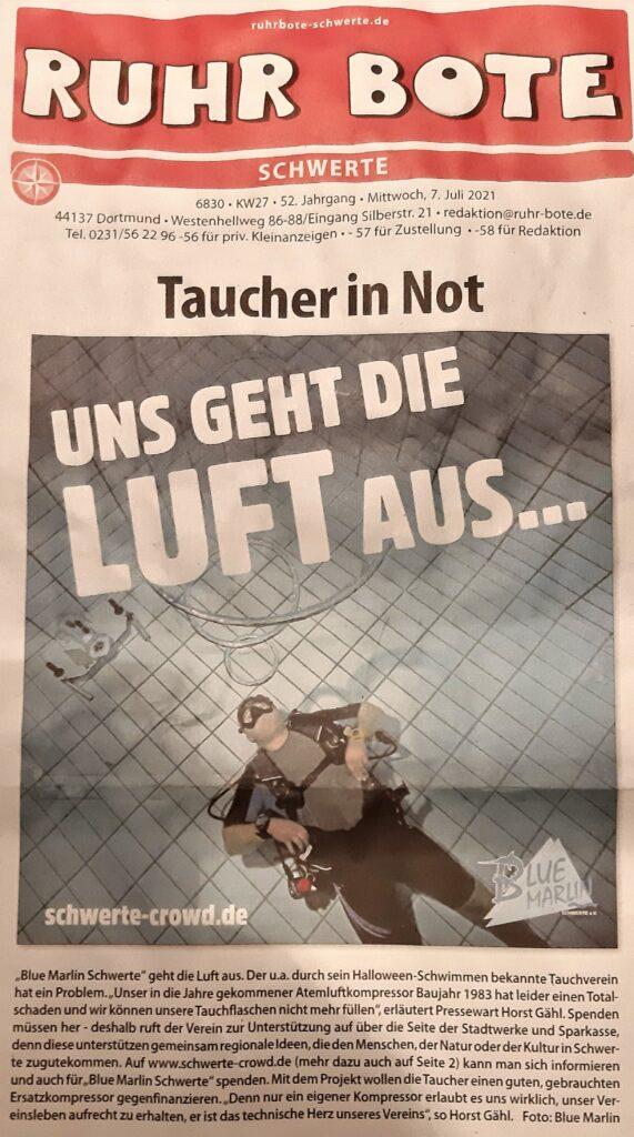 06.07.2021 - Ruhr-Bote zur BMS Schwerte-Crowd